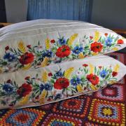 ФотоНаволочка с вышивкой для подушки