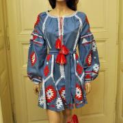 """Жіноче плаття вишиванка """"Магія орнаменту"""" під замовлення"""