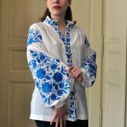 Жіноча вишита блузка з яскравою стильною вишивкою в інтернет-магазині вишиванок