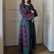 """Платье вышиванка на льне """"Розалия бохо"""" фото"""