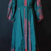 """Женское вышитое макси платье """"Лесная нимфа"""" фото"""