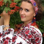 """Женская вышиванка на льне """"Варвара"""" купить Киев"""