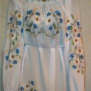 """Женская шифоновая блузка """"Цветочная"""""""