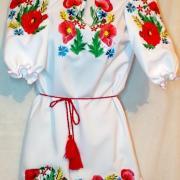 """""""Полевые цветы"""" женская вышиванка"""