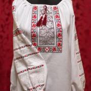 """Женская вышиванка с мережками """"Риммароза"""" фото Крестик Киев"""