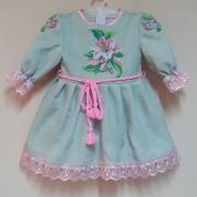 Детское нарядное платье Лилия фото