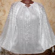 Маркизетовая блузка иней марлевка фото