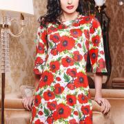 Біле плаття з великими квітами купити Київ