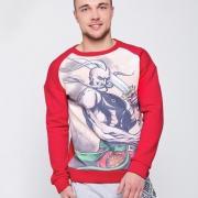 Чоловічий светр червоний купити Київ
