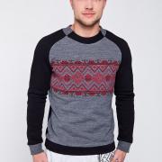 Чоловічий светр з візерунком купити Київ