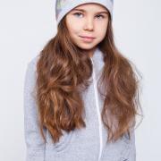 Девичья шапочка с цветами заказать Украина