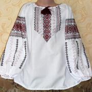"""Вишиванка для дівчинки """"Україночка"""" фото"""