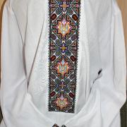 """Мужская вышиванка с национальной символикой """"Отчизна"""" Киев"""