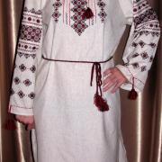 Украинское платье вышиванка ручной работы