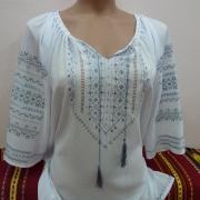 """Жіноча блузка вишиванка """"Шовкова"""" фото"""