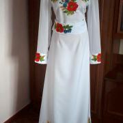 """Жіноча вишита сукня """"Білосніжка"""" фото"""