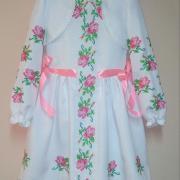 """Ошатне дитяче плаття """"Трояндочки"""" фото"""