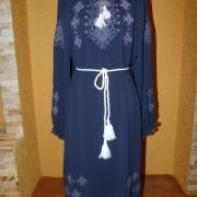 """купить нежное вышитое женское платье """"вечерняя фантазия"""""""