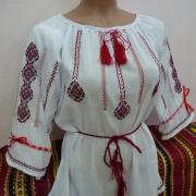 """Жіноча блуза вишиванка """"Ромбічна"""" фото"""
