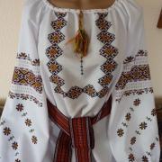 """Женская сорочка вышиванка """"Галицкая звезда"""""""