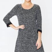 Классическое платье с кружевом фото