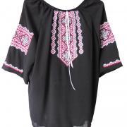Купити чорну жіночу вишиванку Київ