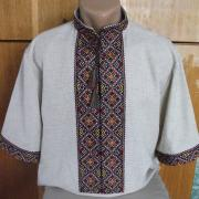 Модная вышиванка украинская мужская
