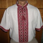 Українська вишиванка чоловіча короткий рукав