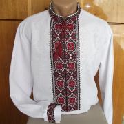 Украинская вышиванка мужская длинный рукав