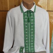 Вышиванка украинская мужская яркие цвета