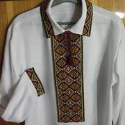 Сорочка чоловіча вишиванка з коміром