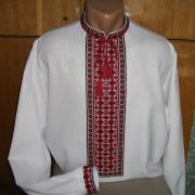 Мужская сорочка вышиванка с длинным рукавом