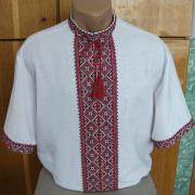 Мужская сорочка вышиванка короткий рукав