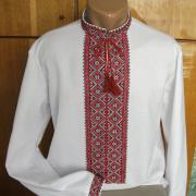 Чоловіча сорочка вишиванка українська
