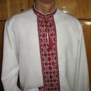 Чоловіча сорочка українська вишиванка