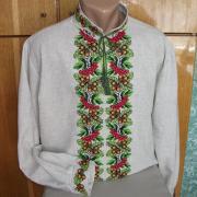 Чоловіча вишиванка українська купити