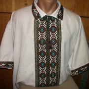Чоловіча ексклюзивна сорочка вишиванка