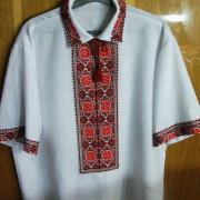 Ошатна чоловіча сорочка вишиванка купити Київ
