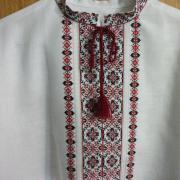 Мужская вышиванка с ручной вышивкой