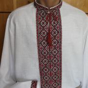 Чоловіча вишиванка з багатою вишивкою купити Київ
