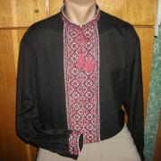 Вышитая мужская сорочка ручной работы купить в интернете