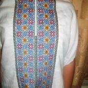 Чоловіча вишиванка з маками і соняшниками купити Київ