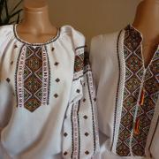 Стильные вышиванки ручной работы для пары - парные вышиванки