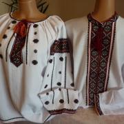Парная вышиванка в технике низинка купить Киев