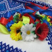 Украинский веночек согласно традиций