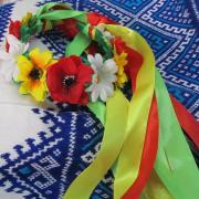 Український вінок з квітами купити