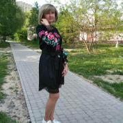 """Платье вышиванка на льне в стиле бохо """"Клюква"""" фото"""