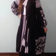 """Женское вышитое платье """"Оберег"""" фото"""