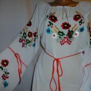 Женская шифоновая блузка полевые цветы купить Киев