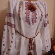 Жіноча вишиванка з довгим рукавом купити Київ